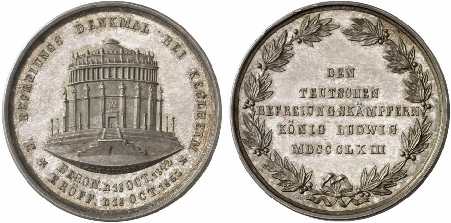 Münzen Und Medaillen Zur Befreiungshalle